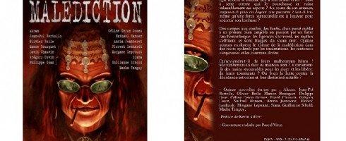 Publication de la nouvelle «Le vrai visage» dans l'anthologie «Malédiction»